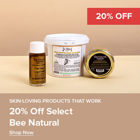 20% off Select Bee natural