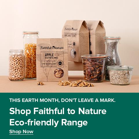 Faithful to Nature eco-friendly range