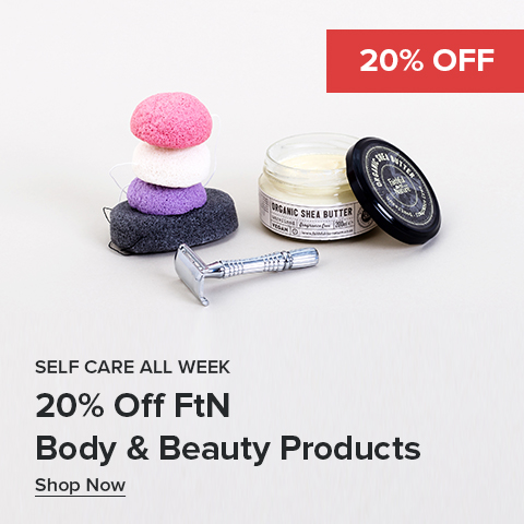 20% Off FtN Body & Beauty Products