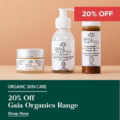 20% Off Gaia Organics