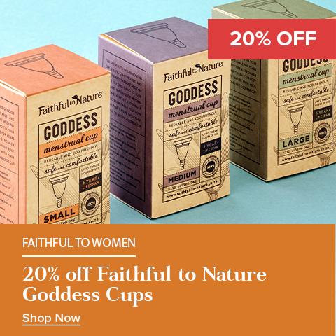 20% Off FTN Goddess Cups