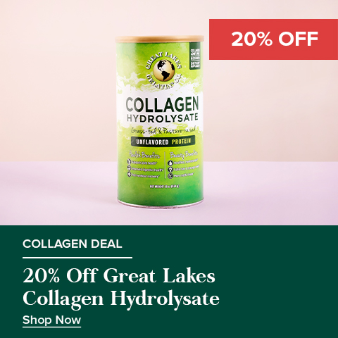 20% Off Great Lakes Collagen Hydrolysate