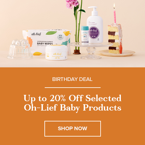Up to 20% Off Select Oh-Lief Baby & Sunscreen