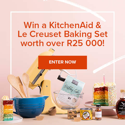 Bake Your Heart Out With Over R25 000 in Prizes!