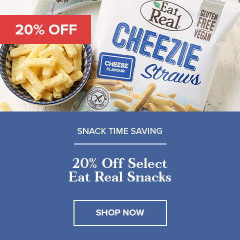 20% Off Select Eat Real