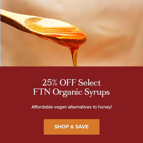 30% Off Select FTN Organic Syrup