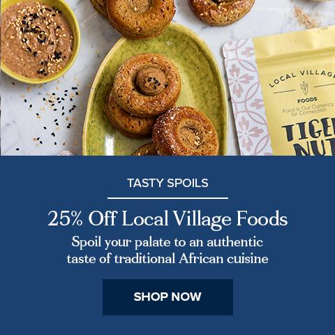 25% Off Local Village Foods