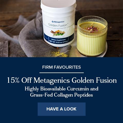 15% Off Metagenics Golden Fusion