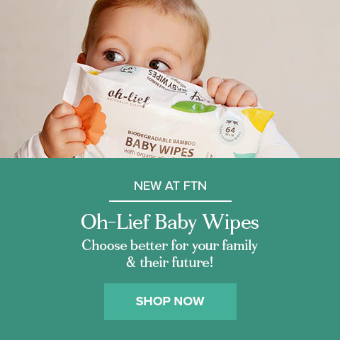 Oh-lief Biodegradable Bamboo Baby Wipes