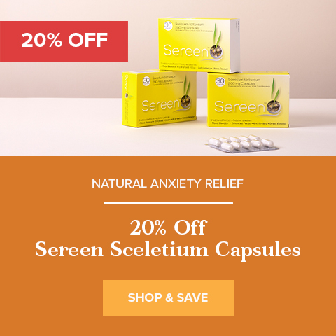 20% Off Sereen Sceletium
