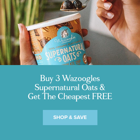 Buy 3 Wazoogles Supernatural Oats & Get The Cheapest FREE