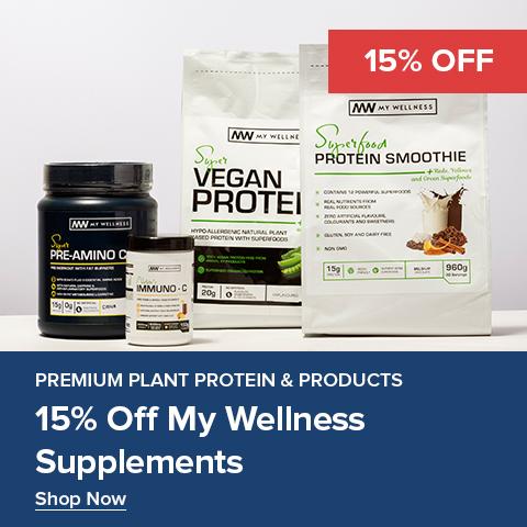 15% Off My Wellness Supplements