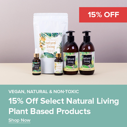 15% Off Select Natural Living Plant Based Products