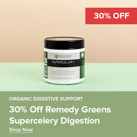 30% Off Remedy Greens Supercelery Digestion