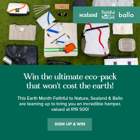 Win the ultimate eco-pack that won't cost the earth!