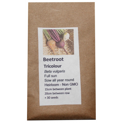6 Degrees East Heirloom Veg Seeds - Beetroot - Rainbow Blend