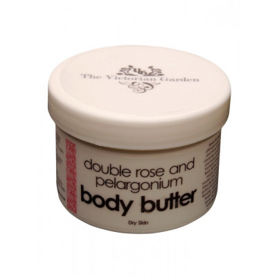 Victorian Garden Double Rose and Pelargonium Body Butter