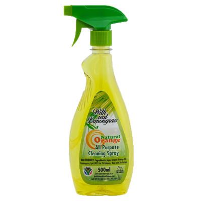 Natural Orange All Purpose Lemongrass Spray