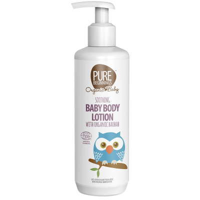Pure Beginnings Soothing Baby Lotion with Organic Baobab