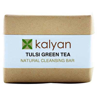Kalyan Tulsi & Green Tea Natural Cleansing Bar