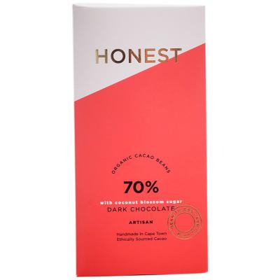 Honest Chocolate Slab 70% Coconut Sugar