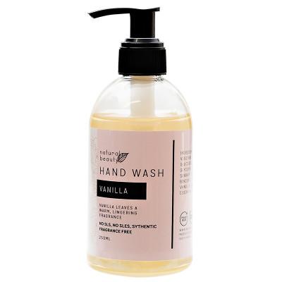 Naturals Beauty Vanilla Hand Wash