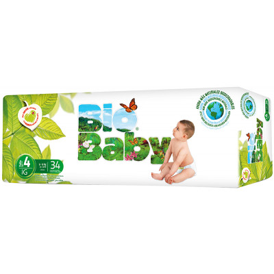 Bio Baby Nappies Size 4 (13kg)