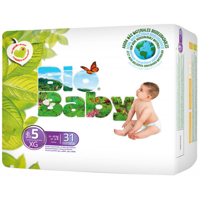 Bio Baby Nappies Size 5 (16kg)