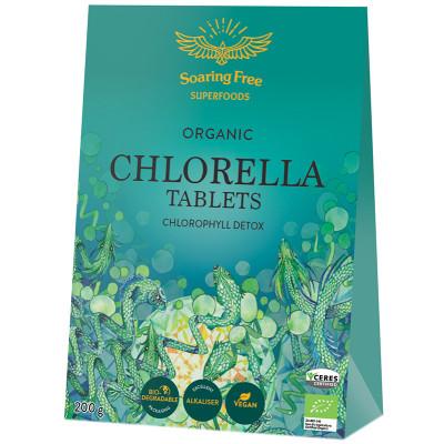 Soaring Free Superfoods Organic Chlorella Tablets