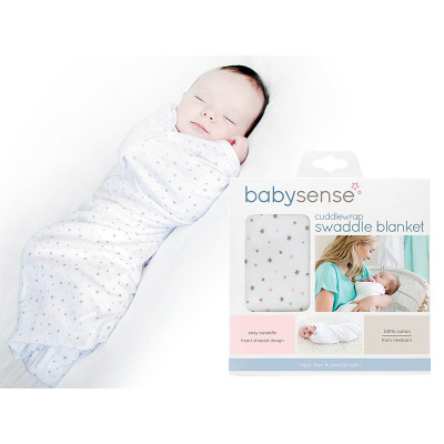 Baby Sense Cuddlewrap Swaddle Blanket - Pink