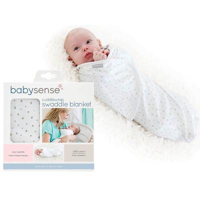 Baby Sense Cuddlewrap Swaddle Blanket - Stone