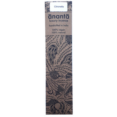 Ananta Luxury Hand Rolled Incense - Citronella