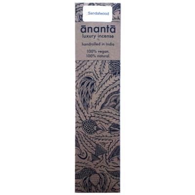 Ananta Luxury Hand Rolled Incense - Sandalwood