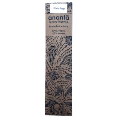 Ananta Luxury Hand Rolled Incense - White Sage