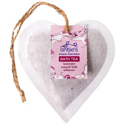 Antjies Lavender Bath Tea Heart
