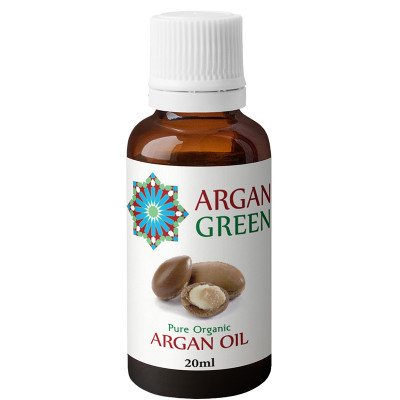 Argan Green Hasna 20ml Pure Moroccan Argan Oil