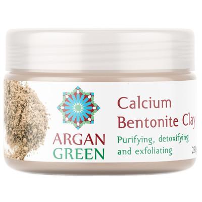 Argan Green Pure Calcium Bentonite Clay