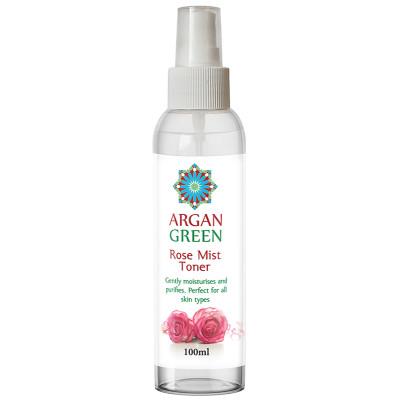 Argan Green Pure Rose Water Skin Toner