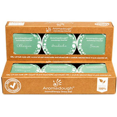 Aromadough Stress Ball Medicinal One - 3 Pack