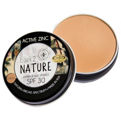 Back 2 Nature Active Zinc SPF 30 Sunblock - Tan