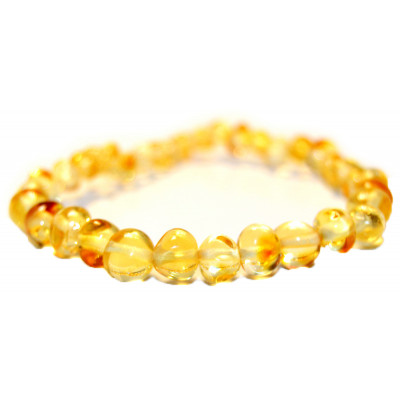 Baltic Amber for Africa Lemon Teething Necklace