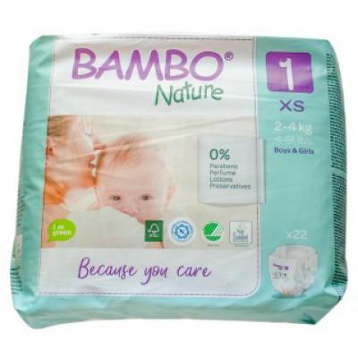 Bambo Nature Newborn Disposables (2-4kg)