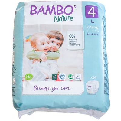 Bambo Nature Maxi Disposables (7-14kg)
