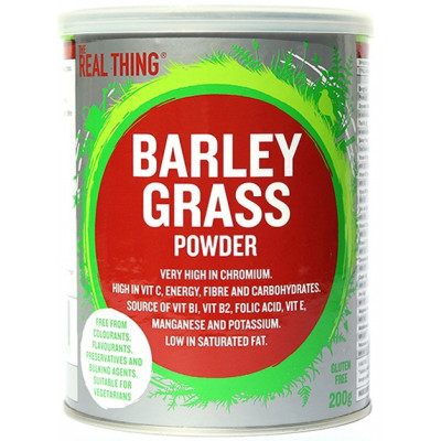 The Real Thing Barley Grass Powder
