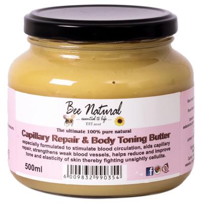 Bee Natural Capillary Repair & Body Toning Butter