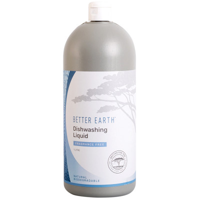 Better Earth Dishwashing Liquid - Scent Free
