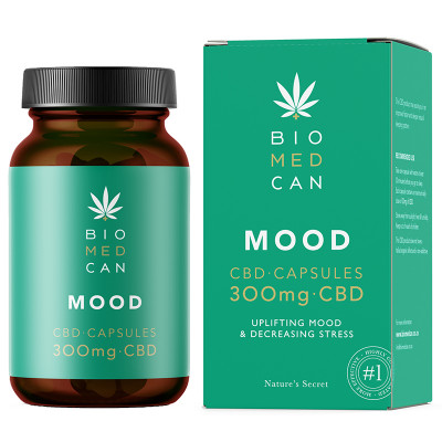 BioMedCan CBD MOOD Capsules