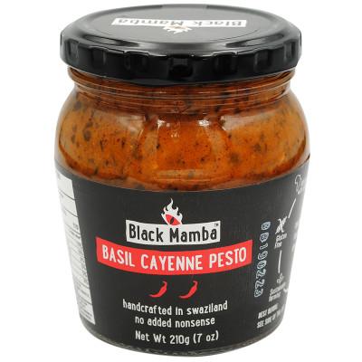 Black Mamba Basil & Cayenne Pesto
