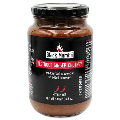 Black Mamba Beetroot Ginger Chutney