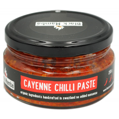 Black Mamba Cayenne Chilli Paste